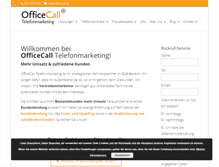 Tablet Preview of office-call.de